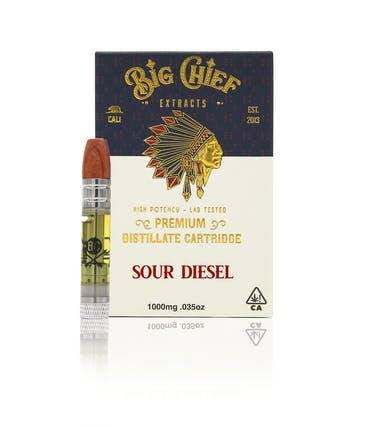 Big Chief Carts Sour Diesel