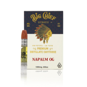 Big chief carts Napalm OG